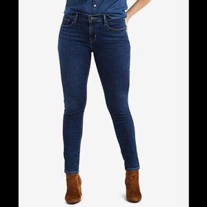 Levi's 529 Curvy Skinny Leg Jeans